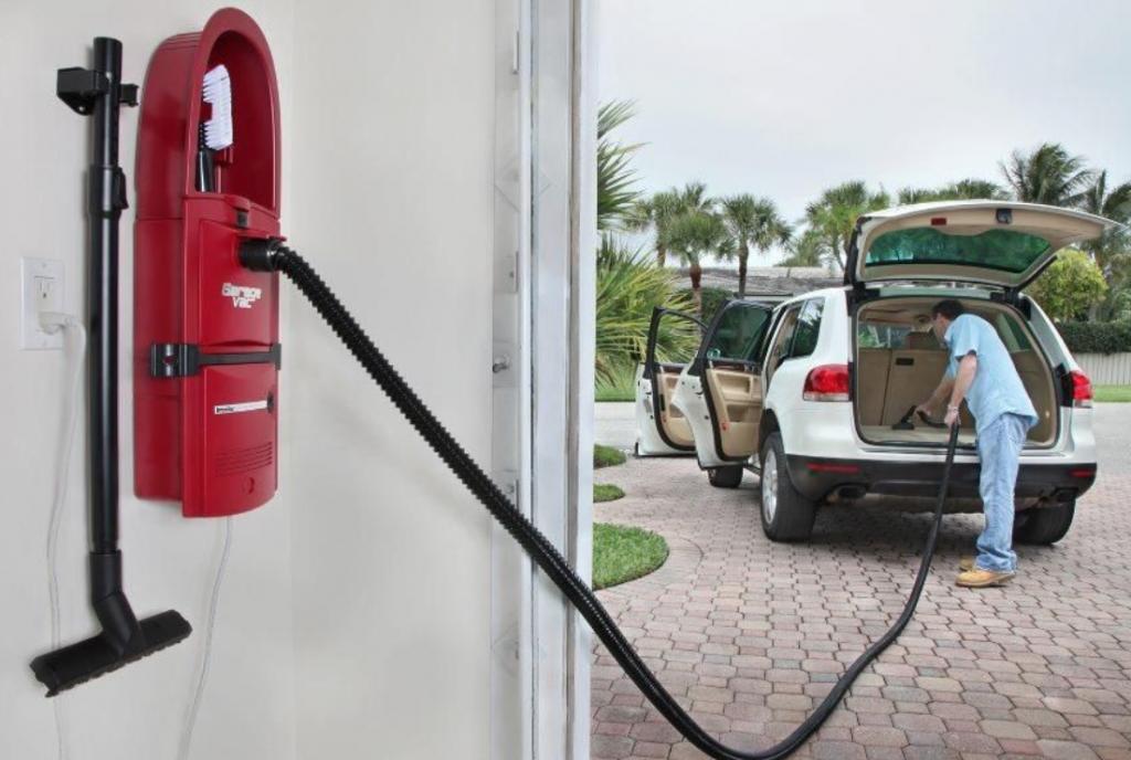 best wall mounted garage vacuum