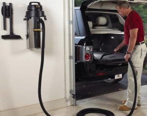 using the best garage wall mount vacuum