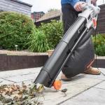 top leaf vacuum mulcher